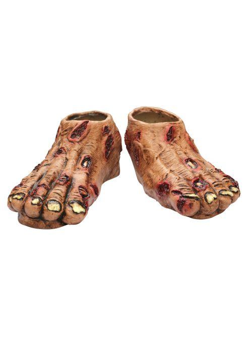 Adult Zombie Feet Flesh