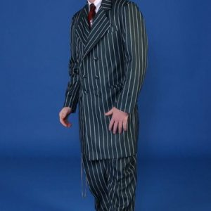 Adult Zoot Suit - Green and White