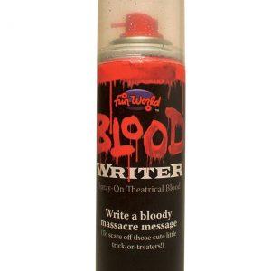 Aerosol Blood Writer