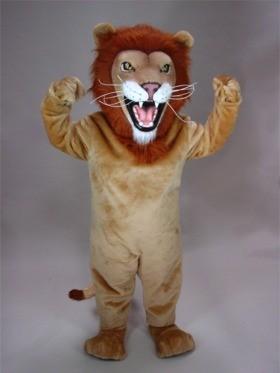 African Lion Mascot Costume
