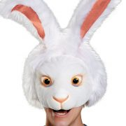 Alice in Wonderland White Rabbit Adult Headpiece