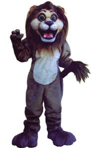 Andy Lion Mascot Costume