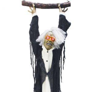 Animated Hanging Zombie Torso