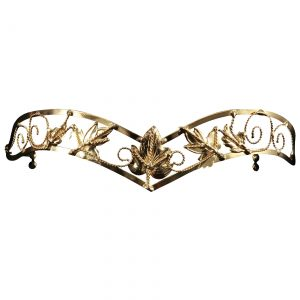 Antique Gold Leaf Circlet