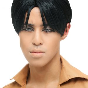 Attack on Titan Adult Levi Wig