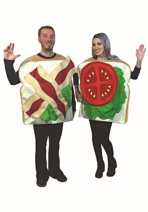 BLT Sandwich Couples Adult Costume
