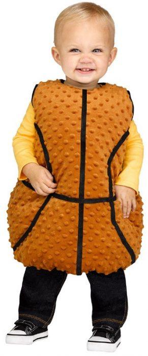 Baby Basketball Tunic Costume