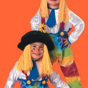 Baby Colorful Clown Yarn Costume