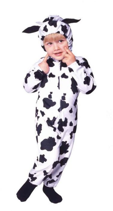 Baby Cow Toddler Costume