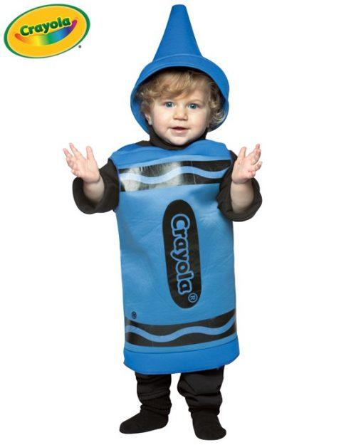 Baby Crayola Crayon Costume - Blue