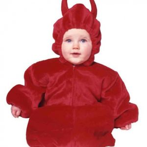 Baby Devil Costume w/ zipper