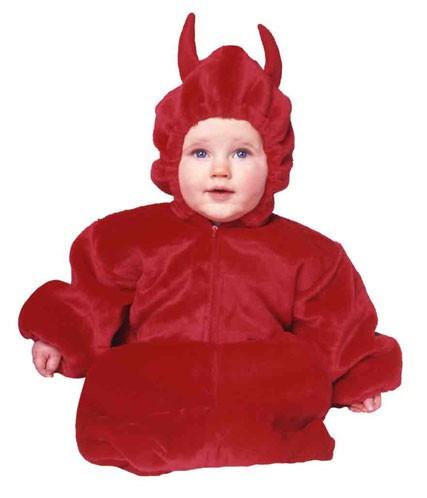 Baby Devil Costume w/ zipper