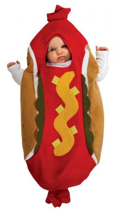 Baby Hot Dog Costume