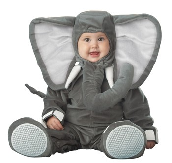 Baby Lil Elephant Costume
