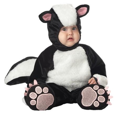 Baby Lil Stinker Skunk Costume
