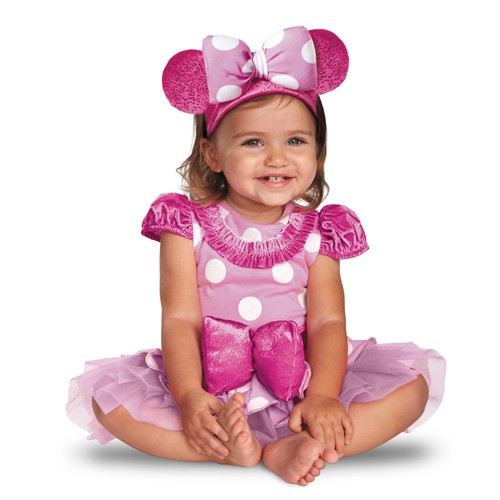 Baby Pink Minnie Costume