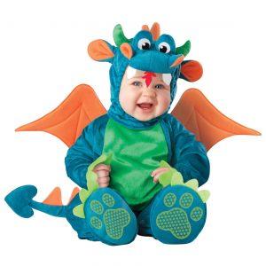 Baby Plush Dragon Costume