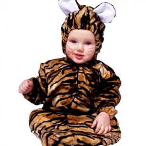 Baby Plush Tiger Costume