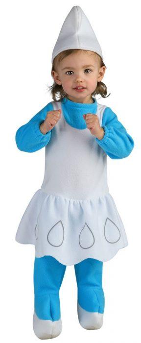 Baby Smurfette Costume