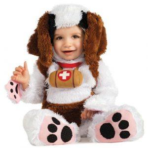 Baby St Bernard Costume