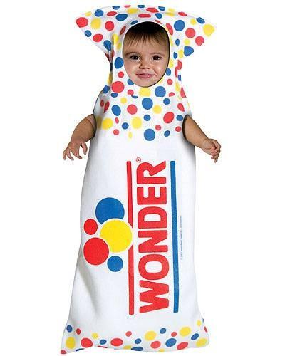 Baby Wonder Bread Costume