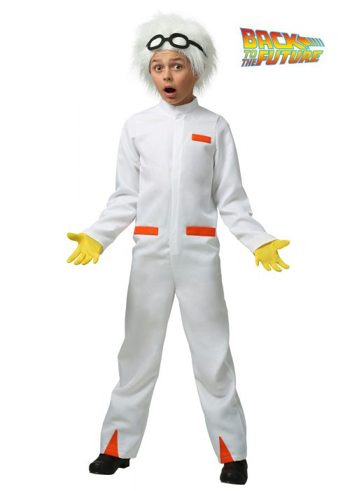 Back to the Future Child Doc Brown Costume