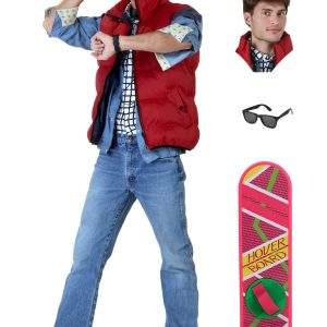 Back to the Future Marty McFly Costume Package