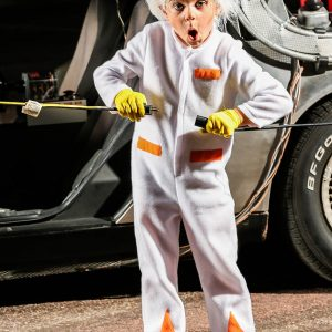 Back to the Future Toddler Doc Brown Costume