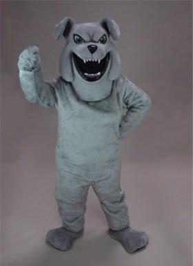 Barky Bulldog Mascot Costume