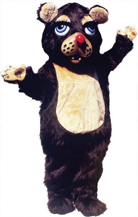 Barnaby Bear Mascot Costume