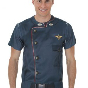 Battlestar Galactica Uniform Sublimated Costume T-Shirt