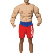 Baywatch Muscles Suit Costume