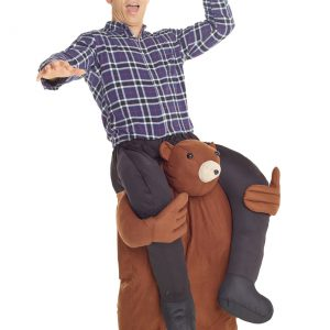 Bear Piggyback Adult Costume