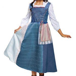 Belle Village Dress Deluxe Women's Costume