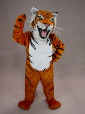 Bengal Tiger Mascot Costume
