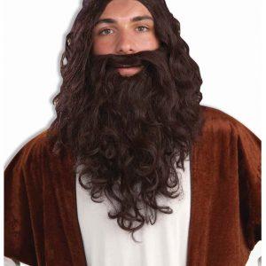 Biblical Wig and Beard Set