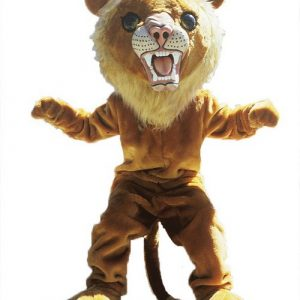 Big Cat Lion Mascot Costume