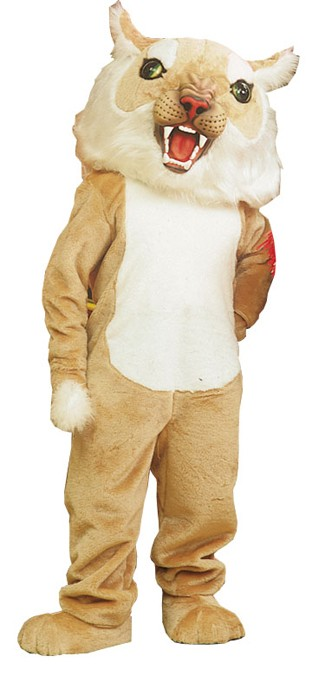 Bigcat Wildcat Mascot Costume