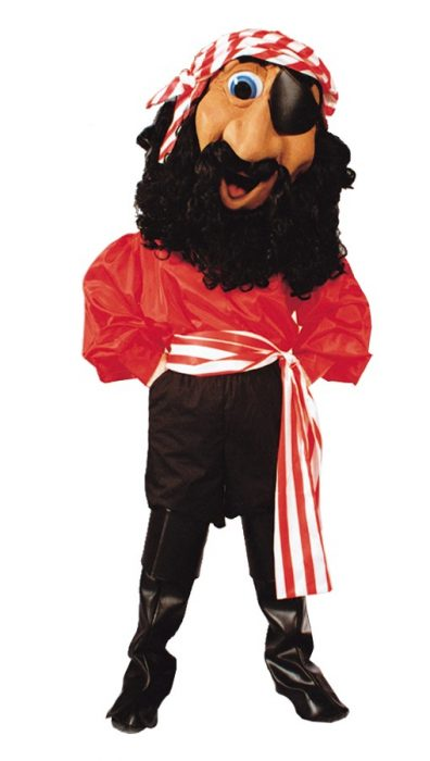 Billy Bones Pirate Mascot Costume