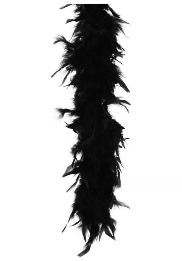 Black 80 Gram Feather Boa