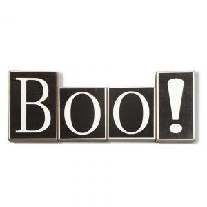 Black Boo Bricks