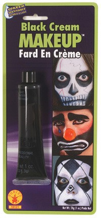Black Cream Makeup