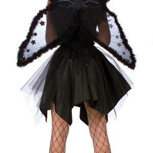Black Fuzzy Wings