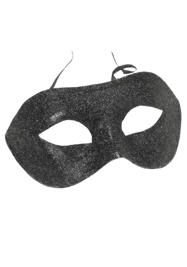 Black Glitter Eyemask