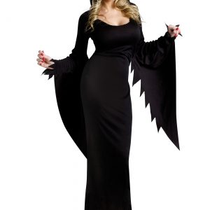 Black Hooded Gown