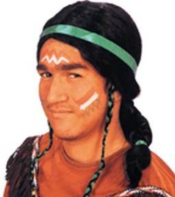 Black Indian Princess Wig