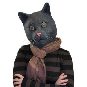 Black Jack The Cat Mask