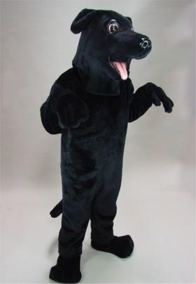 Black Lab Mascot Costume