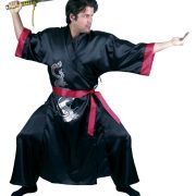 Black Samurai Adult Costume