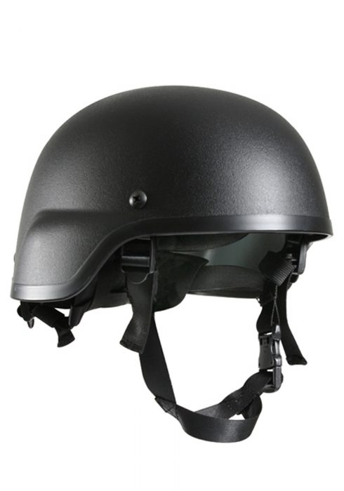 Black Tactical Helmet